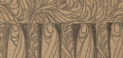 Bleistiftskizze von Koloman Moser, Sammlung von Notizen, Betrachtungen, Studienblätter, Skizzen und szenischen Entwürfen