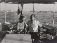 Bild 1 – Lotte Tobisch und Erhard Buschbeck (vermutlich Sommer 1950) © privat/Wienbibliothek im Rath