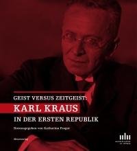 in rot getränkte Fotografie von Karl Kraus