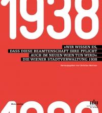 """in weißer Farbe """"1938"""" auf rotem Hintergrund"""