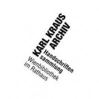 Logo des Karl-Kraus-Archivs, schwarz-weißer Schriftzug