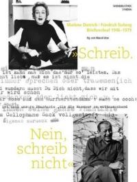 Buchcover: Schwarz-Weiß-Portraitaufnahmen eines Mannes und einer Frau, dazwischen Maschingeschriebenes