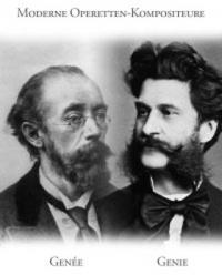 Schwarz-Weiß-Portraitzeichnung zweier Männer mit Bart