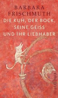 Buchcover: Farbzeichnung von Tieren auf rotem Untergrund