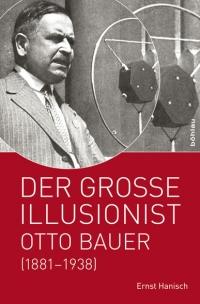 Buchcover: oben Schwarz-Weiß-Photographie eines Mannes vor einem Mikrophon, unten weiße Schrift auf rotem Untergrund