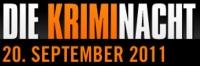 Logo: weiße und orange Schrift auf schwarzem Untergrund