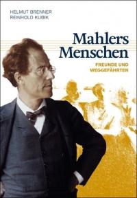 Buchcover: Brustbild von Gustav Mahler, Notenzeilen, dahinter schemenhafte Menschen