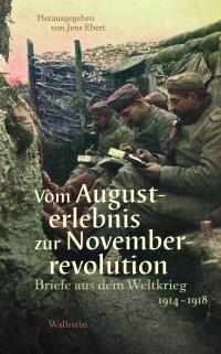Buchcover: drei Männer sitzen im Schützengraben und lesen