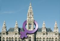 Montage: Rathaus mit Venusspiegel.