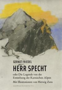Buchcover: Farbzeichnung Berglandschaft