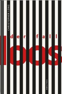 Buchcover: rote Schrift hinter schwarzen Balken, die an ein Gefängnis erinnern