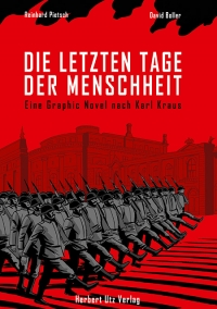 Buchcover: marschierende Soldaten vor historischem Gebäude in Wien