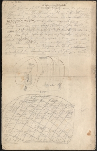 Seite eines Manuskriptes