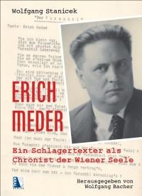 """Buchcover, das eine Fotografie von Erich Meder über dem maschingeschriebenen Text von """"Der Wurtschl"""" zeigt"""