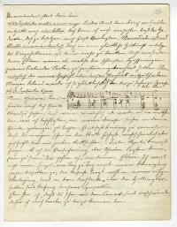 Brief von Johann Strauss an Olga Smirnitskaja
