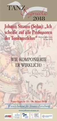"""colorierte Titelseite von Johann Strauss """"Ritter Pásmán"""" als Hintergrund für die Informationen der Tanz-Signale 2018"""