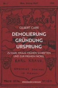 """Titelseite der Zeitschrift """"Fackel"""""""