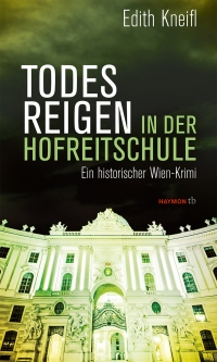 in grün getunkte Fotografie der Wiener Hofburg